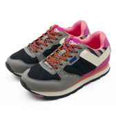 PONY 繽紛韓風復古慢跑鞋 SOLA-V 灰黑粉 44W1SO72NB 女  6折零碼好康