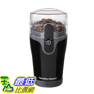 【美國代購】Hamilton Beach Fresh Grind咖啡研磨機(80335R) 1 黑色