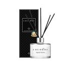 利用五支擴香棒,慢慢散發香氣,淡淡的香氣不刺鼻,能放鬆心情,質感的設計,送禮也非常合適