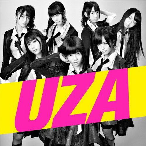 AKB48 UZA〈Type-B〉CD附DVD (音樂影片購)