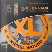 小叮噹的店- D'addario EXL110-NYXL1046 Ultra Pack 電吉他弦 (10-46) 組合包