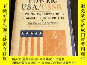 二手書博民逛書店POLITICAL罕見POWER:USA USSRY182979