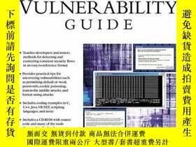 二手書博民逛書店Software罕見Vulnerability Guide (Programming Series)-軟件漏洞指南