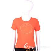 VERSACE T-Shirt 橘色梅杜莎LOGO短袖上衣 1520420-17