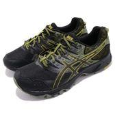 Asics 越野慢跑鞋 Gel-Sonoma 3 黑 黃綠 男鞋 戶外 運動鞋 【PUMP306】 T725N9089