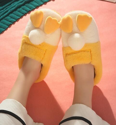 買一送一情侶棉拖鞋