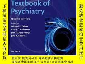 二手書博民逛書店New罕見Oxford Textbook Of Psychiat