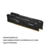 新風尚潮流 【HX434C16FB3K2/16】 金士頓 桌上型 超頻記憶體 DDR4-3466 8GB x2