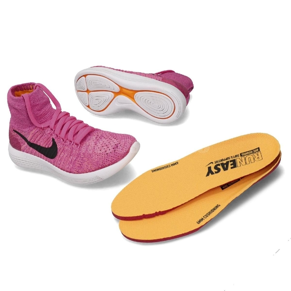 【三折特賣】 Nike 慢跑鞋 Wmns LunarEpic Flyknit 粉紅 黑 襪套式 女鞋 運動鞋【PUMP306】 818677-601