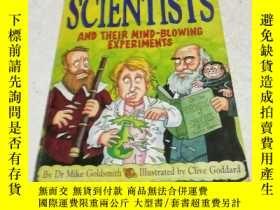 二手書博民逛書店英文原版罕見Scientists and Their Mind-