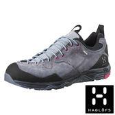 【瑞典Haglofs】ROCKER LEATHER女GT防水登山鞋-花崗灰/火山紅 戶外 登山 GORE-TEX 491670