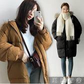 棉服女中長款新款棉衣bf韓版學生寬鬆ins面包服棉襖加厚外套  潮流衣舍