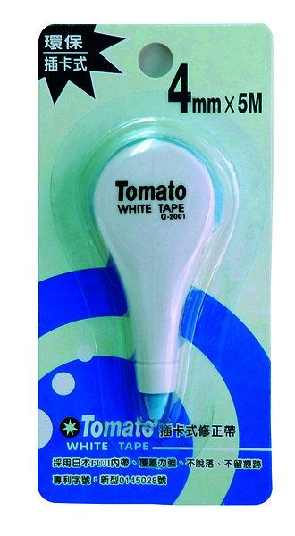 Tomato 插卡式 修正帶 4mmX5M 日本內帶 /個 G-2001 3321