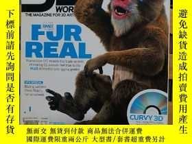 二手書博民逛書店3D罕見WORLD 89(FUR REAL) (英文原版)Y7353 出版2007