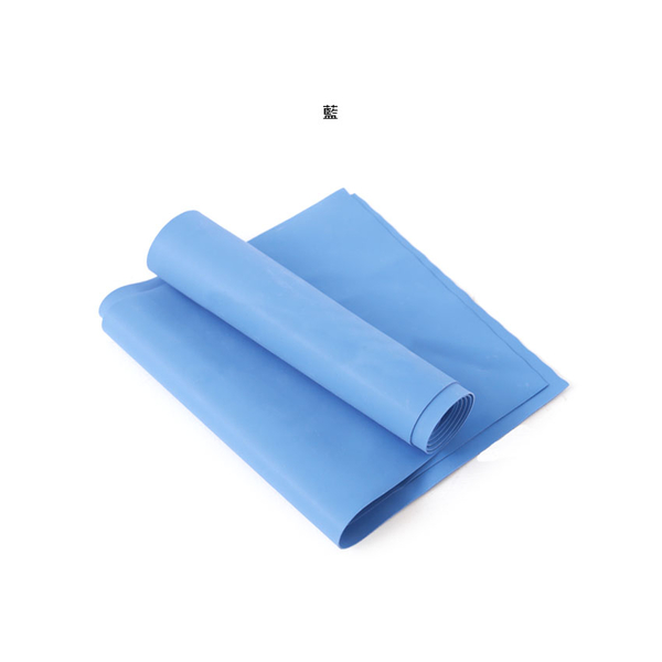 ALEX 伸展彈力帶藍厚度0.65mm (瑜珈繩 健身阻力帶 彈力繩 拉力帶 訓練帶≡體院≡