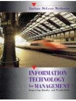 二手書《Information technology for management : improving quality and productivity》 R2Y ISBN:0471580597