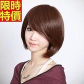 短假髮-斜瀏海時尚修臉逼真女美髮用品3色69o69【巴黎精品】