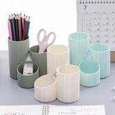 創意辦公桌面個性多邊形筆筒軟裝飾品擺件房間床頭櫃小擺設春季新品