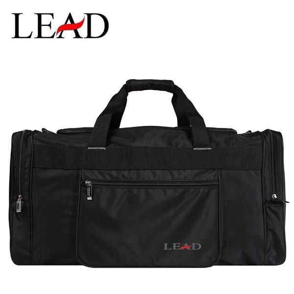 【橘子包包館】LEAD 台灣製造 多功能 旅行袋 LD-8822 黑色