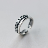 戒指 925純銀-細緻品味生日情人節禮物女開口戒73dt305【時尚巴黎】