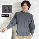 【大盤大】N5-828 深灰 半高領毛衣 長袖口袋上衣 純羊毛套頭圓領毛衣 內搭發熱衣 制服銀行 辦公室