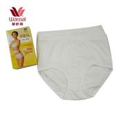 【華歌爾】新伴蒂-S型 中腰M-LL機能內褲兩件組(純淨白)(未滿3件恕無法出貨,不可退換貨)