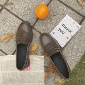 日系學院風森系jk制服鞋文藝二次元少女鞋學生 cosplay低跟小皮鞋 伊衫風尚