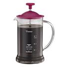 金時代書香咖啡 TIAMO 多功能法式玻璃濾壓壺 650cc SGS合格 HG2110PK