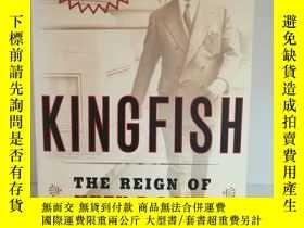 二手書博民逛書店休伊·皮爾斯·朗罕見Kingfish:The Reign of