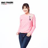 BIG TRAIN  七夕織姬長袖-女-粉紅