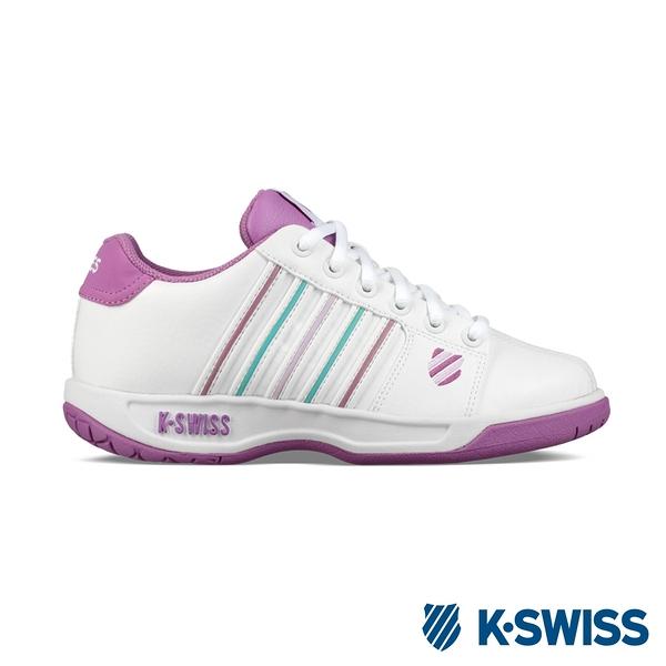 K-SWISS Eadall時尚運動鞋-女-白/紫