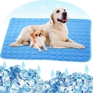 寵物坐墊 夏季寵物冰墊 狗狗冰絲涼席墊子 夏天降溫冷卻散熱冰窩狗窩貓窩