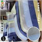 加大【薄被套+薄床包】(6*6.2尺)/加大高級四件式100%純棉『英倫時尚』御元居家-MIT