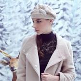 針織毛帽 羊毛-韓版優雅加厚保暖女毛帽73id11【時尚巴黎】