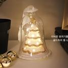 VIA-K Studio LED 閃亮金色聖誕樹小夜燈 交換禮物 LED小夜燈 檯燈 耶誕裝飾燈 派對佈置 聖誕佈置