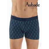 Aubade man-舒棉M-XL平口褲(落羽松)