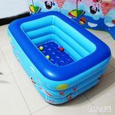 家庭嬰兒充氣泳池寶寶戲水池玩具池氣墊浴盆兒童游泳池 JH1248『俏美人大尺碼』
