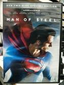 挖寶二手片-D62-正版DVD-電影【超人:鋼鐵英雄/ 雙碟特別版】-亨利卡維爾 艾美亞當斯 羅素克洛(