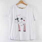 【MASTINA】巨蛋十周年聯名T恤(羊咩咩)-白  秋裝限定嚴選