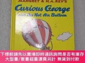 二手書博民逛書店Curious罕見George and the Hot Air BalloonY480169 H.A. REY