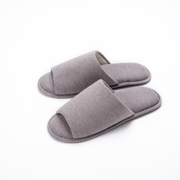 HOLA 柔軟針織拖鞋 駝 L