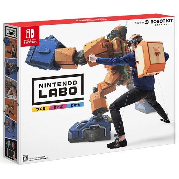NS 任天堂實驗室 LABO 02 機器人套件 Robot Kit Toy-Con -英文日文日版- Switch