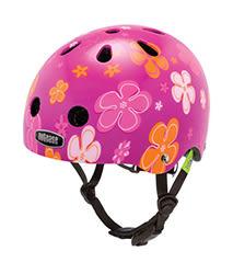 美國Nutcase彩繪安全帽-寶寶系列-紫戀花瓣 (頭圍47-50公分)