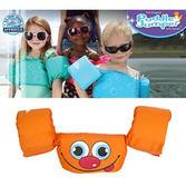 兒童泳衣浮力夾克美國學習式救生浮力衣橘色笑臉Puddle Jumper 體重14 23 公
