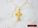 9999純金 黃金 十字架 墜子 墜飾 ...