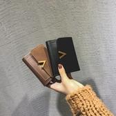 新款小錢包女短款韓版潮折疊個性學生可愛迷你零錢包 琉璃美衣