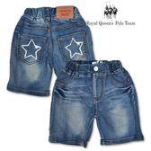 星星口袋 刷白壓縐 牛仔 五分 短褲[34030] RQ POLO 小童 5-15碼 春夏 童裝 現貨
