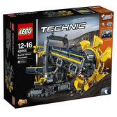 LEGO樂高 創意大師 Technic 系列 巨型滾輪挖土機_ LG42055