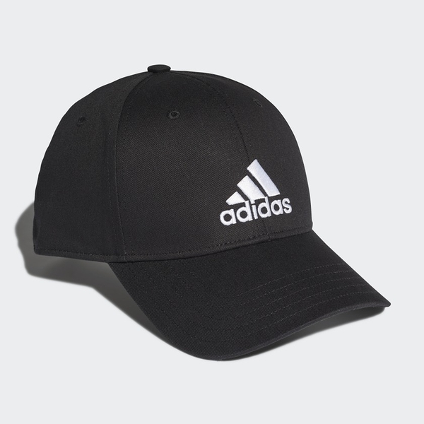 Adidas 男女款黑色LOGO棒球帽-NO.FK0891