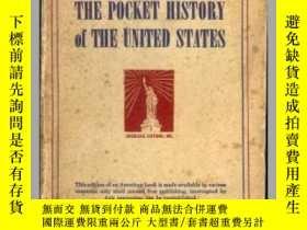 二手書博民逛書店THE罕見POCKET HISTORY of THE UNITE